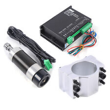 500w Er16 Brushless Spindle Motor High Speed Driver Controller For Cnc Engraving