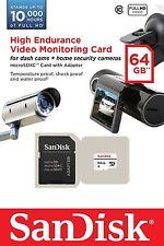 SANDISK HIGH ENDURANCE VIDEO MONITORING CARD C10 64GB  MICROSDXC 64G 64GB MEMORY