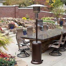 Bronze Commercial Restaurant Outdoor Patio Heater LP Propane Deck Tall BTU Gas
