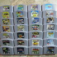 Nintendo 64 N64 Games ✨BUY MORE & SAVE✨ Authentic USA Clean Tested Lot ✨ Rares!