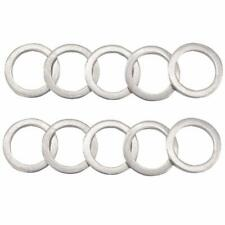 10 Pack M14 Aluminum Oil Drain Plug Crush Washers Gaskets for Mazda # 9956-41-4