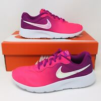 *NEW* Nike Tanjun Air Max GS Youth Girls 4-7 Pink/Violet Sneakers Running Shoes