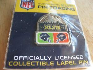 2014 Super Bowl XLVIII Seattle vs Denver Hat Pin