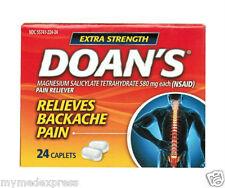 Doan`s Backache Pain Reliever Extra Strength Caplets 24ct 849648082241DT
