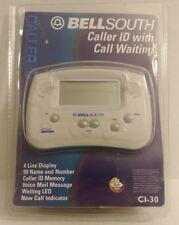 Bell South Telephone Caller ID Model CI-30 Off-White Call Waiting w/ Power Cord