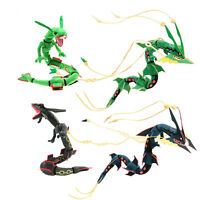 Pokemon Center Shiny Mega Rayquaza Green Black Plush Doll Stuffed Toy US Ship