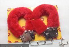 Esposas de amor eroticas sexuales roja con llave juegos eróticos bondage fetish