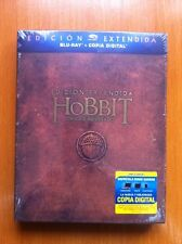 EL HOBBIT UN VIAJE INESPERADO - EDICION EXTENDIDA 3 BLURAY- NEW & SEALED