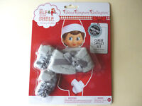 The Elf on the Shelf Mink Stole Faux Fur & Mittens Claus Couture Collection  NEW