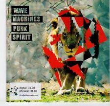 (EL315) Wave Machines, Punk Spirit - 2009 DJ CD