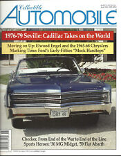 Collectible Automobile Magazine Month Year Vol 17 - No 1