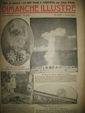 N° 689 REPORTAGES ROI FOUAD EGYPTE BD BICOT M. POCHE DIMANCHE ILLUSTRE 1936