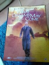 What Dreams May Come (Robin Williams, Cuba Gooding Jr.) A2++ Movie Poster