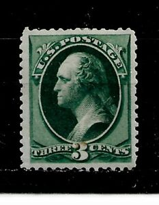 US Stamp-Scott # 207/A46b-3c-Mint/NH-1881-82-Mint/NH-Jumbo Margins-Perf.12-OG