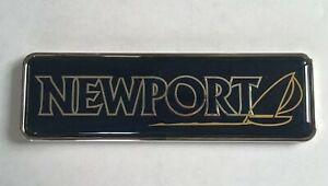 FORD  NEWPORT logo Monogramme Insigne Sigle Emblème D'origine
