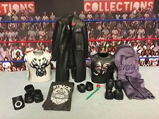 "WWE Wrestling Mattel Elite Basic Accessories Lot for 6"" Figures Shirts Pads Suit"