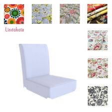 Custom Made Armchair Cover, Fits IKEA Henriksdal Bar Stools, Patterned Fabrics