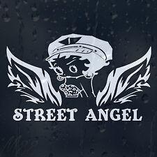 Funny Cartoon Betty Boop Street Angel Girl Lady Woman Car Decal Vinyl Sticker