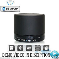 Mini Portable wireless Bluetooth speaker with MicroSD/USB music playback