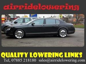 BENTLEY FLYING SPUR AIR Suspension Lowering Links  Shipped Free WORLDWIDE