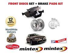 FOR ALFA ROMEO 156 1.8 2000-2006 NEW FRONT BRAKE DISCS SET+ DISC PADS KIT