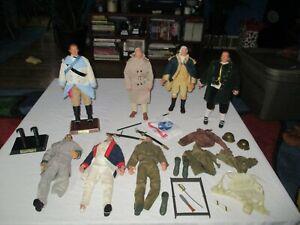 "GI Joe & Other 12"" George Washington Eisenhower Ben Franklin & More"