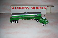 1982 Lucky Leaf Fruit Products Winross Diecast Tanker Trailer Truck