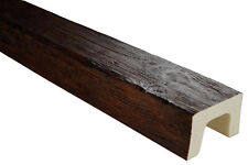 2 Meter Balken Decke Innendekor Natur Holzimitat PU Deco Wood 90x60mm ED107 D