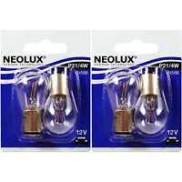 2x NEOLUX Set P21/4W 21/4W BAZ15d 12V Blister Birne