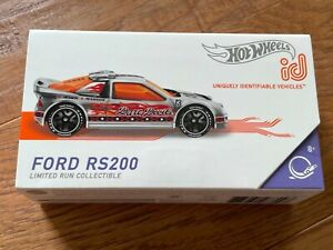 HOT WHEELS id DAREDEVILS FORD RS200 Limited Run Collectible ZAMAC