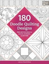 180 Doodle Quilting Designs : Free-Motion Ideas for Blocks, Borders, and Beyond