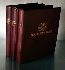 500 JAHRE POST Tolle Sammlung mit viel Stadtpostausgaben/Postfrische/Belege etc