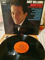 Andy Williams Moon River & Great Movie Themes Vinyl Record - 12 songs Maria etc