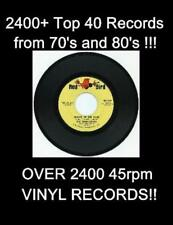 45 rpm top 40 vinyl records!