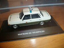 Wartburg 353  VoPo VP Volkspolizei DDR 1:43 IST CARS&CO limitiert 999 Stück WW