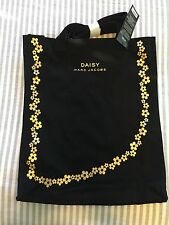 Marc Jacobs Daisy Black Tote Shopping Bag New
