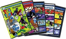 TEEN TITANS: THE COMPLETE SEASONS 1 - 5  (DVD, 2008, 10-Disc Set)