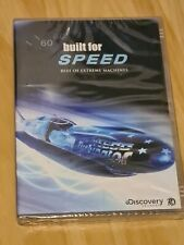 Built For Speed - Best of Extreme Machines BRAND NEW & SEALED DVD Region 4