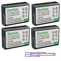 Kastar Replacement Battery for Canon LP-E10 LC-E10 & Canon EOS Rebel T6 Camera