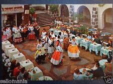 POSTAL LAS PALMAS BAILE TIPICO EN PUEBLO CANARIO CANARIAS DANCE POSTCARD CC03110