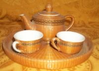 Mini Tea Set with a Pot and two Tea Cups