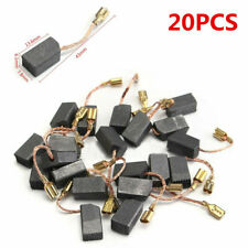 20pcs Motor Carbon Brushes for Angle Grinder Rotary Hammer Drill Tool 6x8x14mm