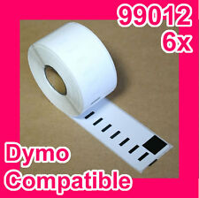 6 Rolls of Quality Label for DYMO LabelWriter-DYMO CODE:99012