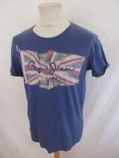 T-shirt Pepe Jeans  Slim Bleu Taille L à - 57%