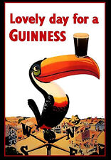 Old Guinness Poster reproduction Another pint