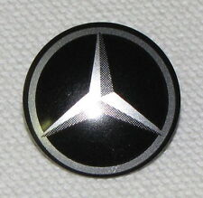 Lego New Rounded Front Silve and Black Mercedes-Benz Logo Pattern Emblem