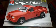AMT 1993 FORD RANGER SPLASH PICKUP TRUCK Model Car Mountain KIT 1/25 fs