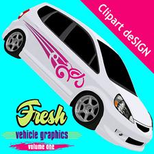 Vehicle Graphics Clipart Vinyl Cutter Plotter Images Eps Vector Clip Art Cd