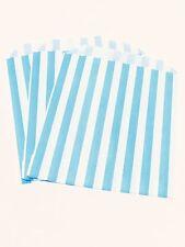 Light Blue Paper Bags X25 5x7 Kids Party Loot Cake Gift Candy Buffet Frozen