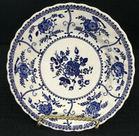 "Johnson Brothers Indies Blue Single Bread or Dessert Plate 6.25"" Made In England"